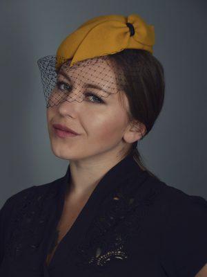 Meghan Cocktail Hat
