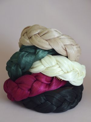Silk Abaca Headbands