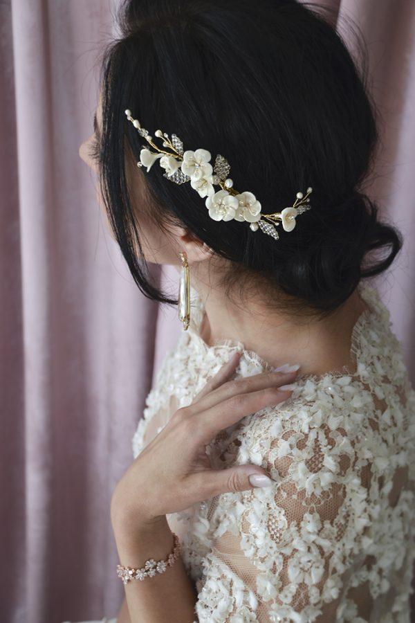 brudehår pynt