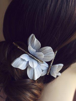 silk butterflies
