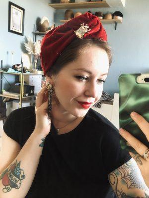 Scarlet - Turban Knot Headwrap