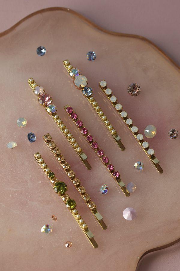 Swarovski bobby pins