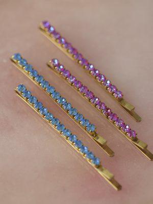 Candy Crystal Hair Pins