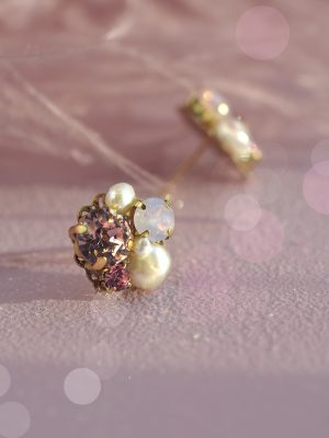 Diana - Cluster Earrings