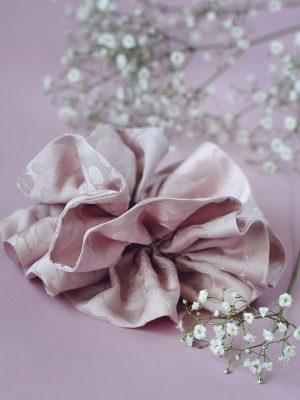 silk skrunchie