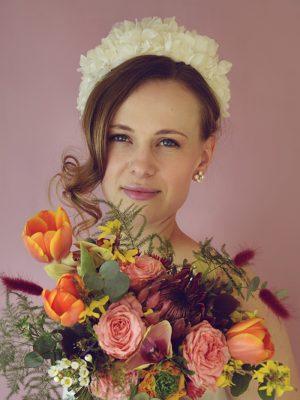 Miranda - Floral Headband