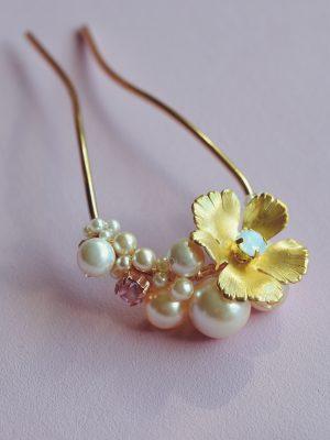Blossom - Large Hair Pin