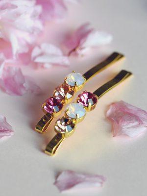 Lola - Crystal Hair Pins
