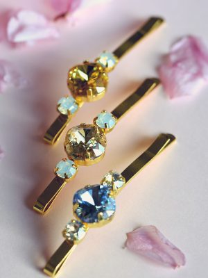 Lucy - Crystal Hair Pins