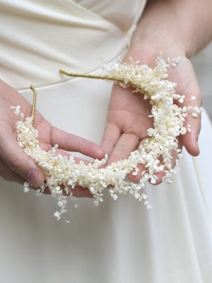 Lillian - Dried flower crown
