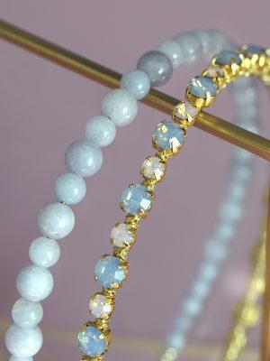 aquamarine headband